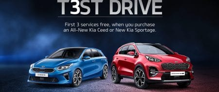 Surprise Yourself with a Kia Test Drive