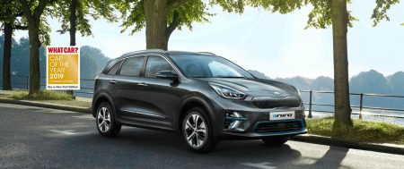 The Kia e-Niro has been named the What Car? car of the year for 2019