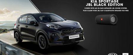 Brand New Kia Sportage 1.6 T-GDi JBL Black Edition 174hp Isg SUV