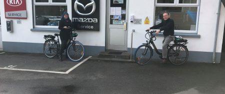 Electric Bikes on Loan at Bel Royal Motors